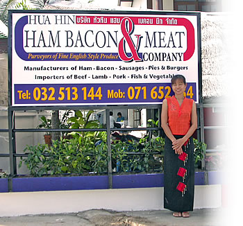 huahin ham and bacon